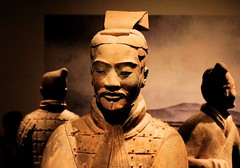 What is going through the general's mind? (PeterThoeny) Tags: sanfrancisco china terracotta fav30 hdr asianartmuseum terracottawarrior terracottaarmy qinshihuang photomatix 1xp nex6 selp1650