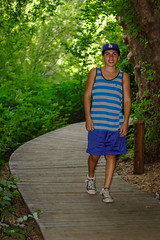 Little Bro (Crystal_rivera) Tags: trees green hiking trails