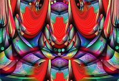 Slightly Abstracted Floral Scene (Joe Vance aka oliver.odd) Tags: abstract colour ideas vividimagination shockofthenew stickybeak sharingart awardtree hypotheticalawards