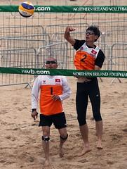 Volleyball - Portrush wpfg 2013 (WPFG Photographers) Tags: beach by m volleyball kane portrush