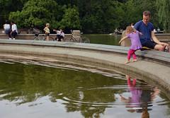 Daddy Daughter Date (Rachel Citron) Tags: nyc newyorkcity travel water kids children daddy pond centralpark manhattan daughter august tony littlegirl nytimes gothamist guide summerfun curbed uppereastside newyorktimes bethesdafountain cooloff timeoutnewyork nymag nycwithkids