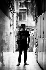 富士 Fujifilm Neopan 100 Acros B&W Film (filmprince) Tags: 富士 fujifilm neopan 100 acros bw film black white 黑白菲林 scanner noritsu koki qss3233 柯達 kodak tmax dev 14 65min push iso 150 藝康 nikon af 50mm f14d f100 3 aug 2013 macau macao sar china 田 sam 東 媽閣 下環 掃街 acros100 fuji