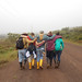 Walking back from El Junco - Bolivia and the Galapagos Islands cross-cultural