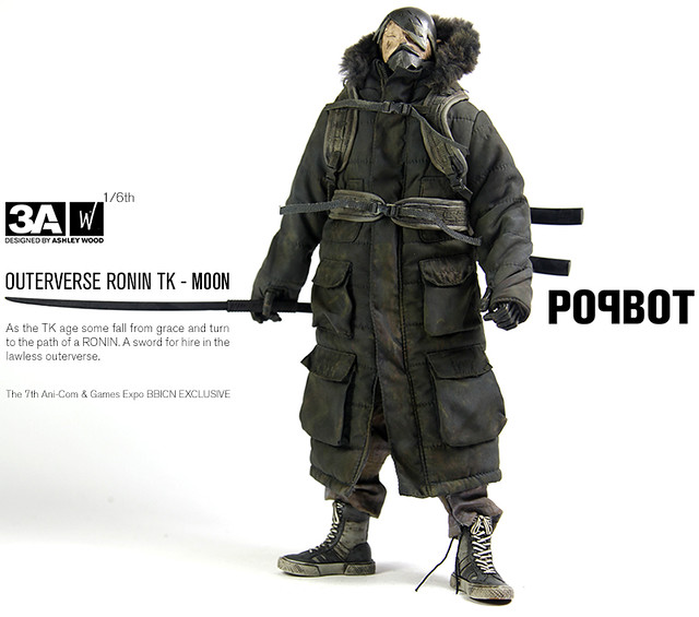 threeA - TOMORROW KING: OUTERVERSE RONIN TK MOON