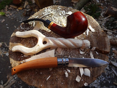 Lucet carving (fishfish_01) Tags: greenwood craft carve string cordage bushcraft lucet sloyd tvinningsben