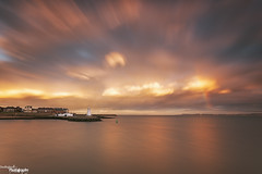 Headland Sky (Dave Brightwell) Tags: uk sunset sky clouds reflections photography flickr cleveland hitech redsnapper headland hartlepool bwnd davebrightwell