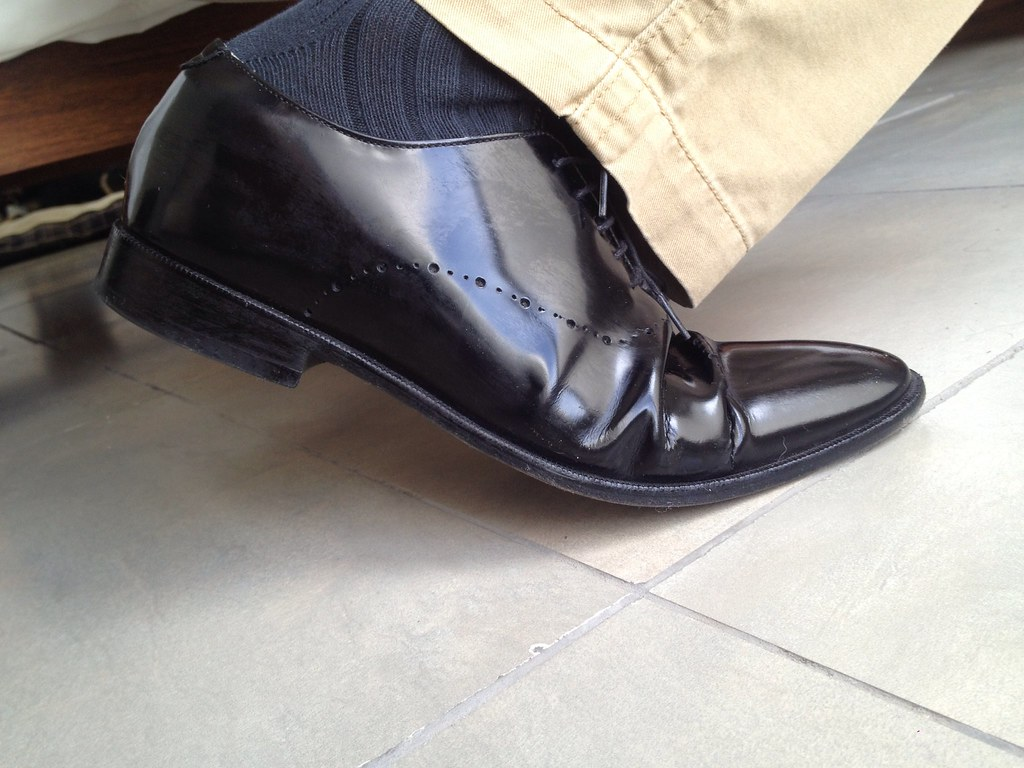 Gay dress shoe fetish, sexy pussy itch