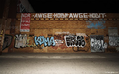 (Into Space!) Tags: street urban night graffiti photo tofu detroit moose carl pear roller kosher graff d30 bombing throw false fill kf kuma melo nsf acne purge bkf hobit raels niser intospace dklt purger awge intospaces