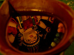 Drishtikon (Dipanjan Roy) Tags: india color colour art festival lights nikon nikkor kolkata bengal durga durgapuja pomp grandeur indianfestival goddessdurga kolkatapuja nikonp90 kolkatapujo