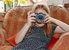 Taking a picture (Panasonic GX7 & Panasonic 25mm Prime Lens) (markdbaynham) Tags: people lens four prime f14 evil panasonic mirco csc thirds 25mm m43 mft mirrorless u43 gx7 micro43 m43rd u43rd