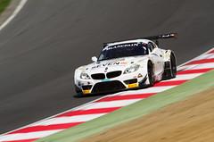 Blancpain GT Series Triple Eight Racing BMW Z4 (motorsportimagesbyghp) Tags: racecar 888 motorracing sportscar motorsport bmwz4 joeosborne tripleeight leemowle blancpaingtseries