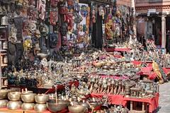 Souvenirs at Swayambhunath (AdjaFong) Tags: nepal kathmandu tempel