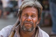The Angelic Beggar (eyecandyclick) Tags: portrait india smile face canon beggar eyecandyclick