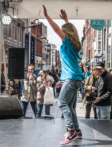The Dance Party on Henry Street, Thursday 21st May, Midday-8pm REF-104279