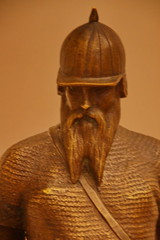 "Parmen Petrovich Sabella (1830-1917) Ermak, 1860s, bronze (detail) (Sergei P. Zubkov) Tags: sculpture art bronze march kunst skulptur russian ""the 2015 museum"""