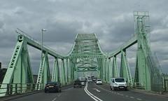 Silver Jubilee Bridge (MWBee) Tags: road bridge samsung runcorn rivermersey silverjubileebridge a533 mwbee wb350f