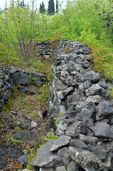 Trench Remains [Sagrado - 26 April 2015] (Doc. Ing.) Tags: italy drywall museum stones wwii go worldwarii fvg worldwar2 friuli sagrado 2015 friuliveneziagiulia nordest montesanmichele zonasacra