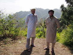 Tor Erling and me up in the mountains with traditional Pakistani clothing!