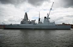 HMS DRAGON (Bernie Condon) Tags: dragon navy destroyer portsmouth warship rn t45 royalnavy hmsdragon hmnb