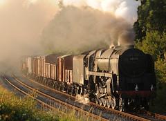 GCR 44347cr (kgvuk) Tags: gcr greatcentralrailway trains railways locomotive steamlocomotive 9f 2100 92212 92178 kinchleylane