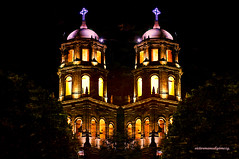 TWIN SOULS. (MIRROR) (Viktor Manuel 990) Tags: belltower campanario churches iglesias mirror espejo digitalart artedigital quertaro mxico victormanuelgmezg templodesanfrancisco sanfranciscotemple
