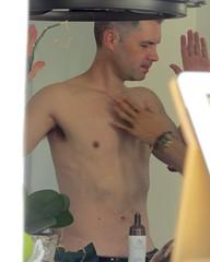 IMG_9137 (danimaniacs) Tags: yardsale shirtless man guy sexy hot armpit