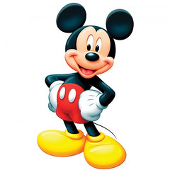 []LINE05 (sutaemon) Tags: sticker message    disney mickey mouse welcome