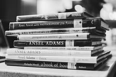 Ansel. (* El Arte del Cisne (art*swan )) Tags: ansel adams blackandwhite presentation
