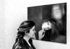 similarities MOMA (DROSAN DEM) Tags: museum art moder moderno arte moma san francisco usa california chica girl mujer woman