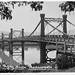 c  1940s  Rockampton's old Fitzroy River Bridge