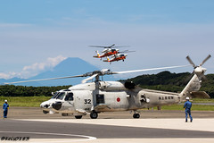 "JMSDF ""Air ASW Helicopter Squadron 21"" SH-60K (keis0204) Tags: jmsdf airaswhelicoptersquadron21 sh60k helicopter heli heliport military canon eos7dmarkii ef100400mmf4556lisiiusm seahawk mitsubishi aviation airshow aircraft uh60"