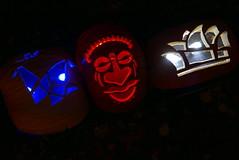(theleakybrain) Tags: pumpkinnights pumpkin nights mnstatefair p1460081 halloween halloweenwalk minnesota jackolantern jack lantern