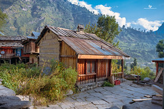 Home is where our Story begins! (Navaneeth Kishor) Tags: kasol himachal home house tosh toshvillage village villagelife life india indian mountain himalaya hut family