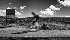Kasseler Kogge (Dan-Schneider) Tags: streetphotography street blur bewegungsunschärfe blackandwhite bw olympus omdem10 monochrome human clouds schwarzweiss sky shadow