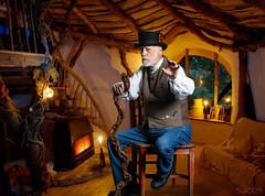 Gary Fireside Storytelling (Richard Wayne Photography) Tags: gary thestoryman fireside tale story composite photomontage 2016