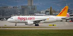TC-DCJ Pegasus Airbus A320-214 (KnutHSolberg) Tags: aviation engm osl oslolufthavngardermoen tcdcj akershus norway pegasus pegasusairlines airbusa320214 airbus