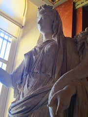 The Louvre - goddess2 (bronxbob) Tags: paris france thelouvre museums artmuseums sculpture statues statuary marble