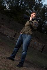 Fredreric Delavier x  Mossberg shotgun (Grgory LEROY I) Tags: delavier shotgun mossberg