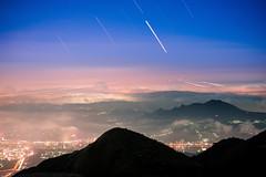 (DSC_5649) (nans0410(busy)) Tags: taiwan taipei datunmountain yangmingshannationalpark startrack sky glasslight cloud scenery outdoors light mountain