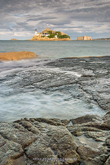 L'le Louet (Anne-Franoise LAURANS) Tags: nikon bretagne finistre carantec mer pose longue sigma rocher litoral