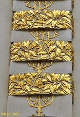DSC_0010n wb (bwagnerfoto) Tags: jugendstil art nouveau secession vienna wien bcs austria detail gold golden