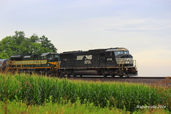 NS 112 Princeton IN NS 6748 1068 (waltersrails) Tags: emd ge trains train railraod ns erie reading heritage