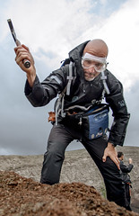 2016-10-25_CalderaBlanca-Traverse1-ESA-L.Ricci-5DII-129 (europeanastronauttraining) Tags: pangaea astronaut training geology geological field planetary analogue exploration volcanism lanzarote traverse calderablanca geoparklanzarote sampling