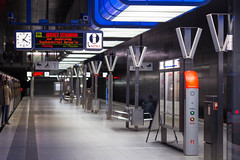 "U4-Haltestelle ""Hafencity Universitt"" (kevin.hackert) Tags: bahnhof bahnsteig dt4 dt5 hha hhadt4 hhadt5 hvv hamburg hamburgerhochbahn hochbahn station ubahn u4"