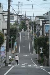 tokyo6095 (tanayan) Tags: urban town cityscape tokyo japan akabane nikon j1    road street alley slope