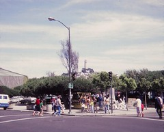 San Francisco Street Scene - July 1981 (Stabbur's Master) Tags: california sanfrancisco coittower