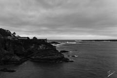 Forte de San Damin, Ribadeo (jcfasero) Tags: ribadeo mar sea seascape landscape bw blackwhite sony a6000 galicia galiza espaa spain
