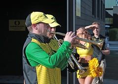 Band (C.P. Kirkie) Tags: ducks universityoforegoncheerleading oregon oregonducks oregoncheer autzenstadium eugene