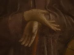 FRA ANGELICO,1440-45 - Le Calvaire (Louvre) - Detail 82 (L'art au prsent) Tags: art painter details dtail dtails detalles painting paintings peinture peintures 15th 15e peinture15e 15thcenturypaintings 15thcentury detailsofpainting detailsofpaintings fresque fresco moyenge middleage louvre guidodipietro fraangelico adoration worship bible croix cross prire prayer saint bless sacred holy blessed figure personne people femme femmes woman man men crucifixion calvaire montcalvary pain suffering giovannidafiesole fiesole giovanni