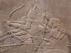 Archers (Aidan McRae Thomson) Tags: nineveh relief britishmuseum london assyrian sculpture mesopotamia ancient